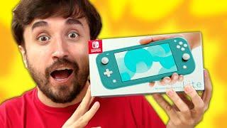 O NOVO SWITCH!!! - Nintendo Switch Lite