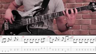 Como tocar Livin on a Prayer de Bon Jovi - Tutorial Bajo (HD)