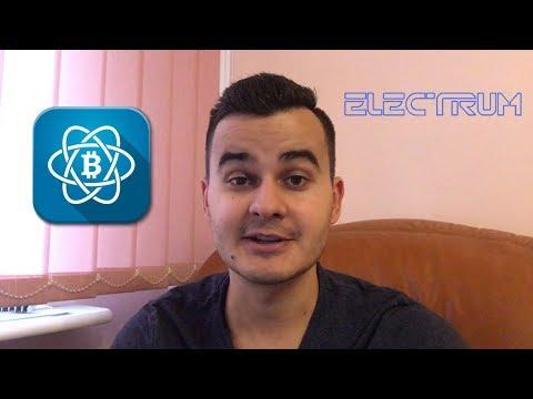 Electrum - lekki i prosty portfel w postaci aplikacji