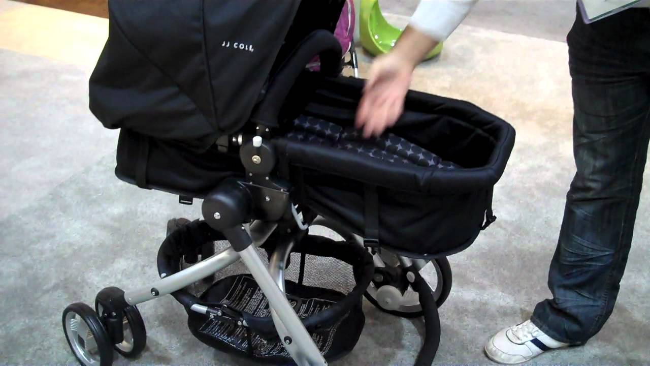2012 JJ Cole Broadway Swivel Stroller And New Car Seat
