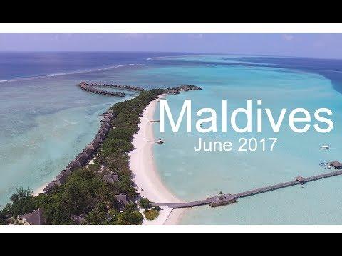 Maldives Drone Footage June 2017