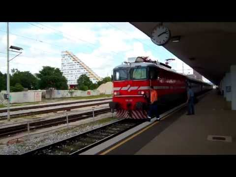 アキーラさん到着①スロベニア・リュブリャナ駅,Station,Ljubljana,Slovenia