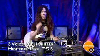 Marty Friedman with BOSS ST-2 and PS-6