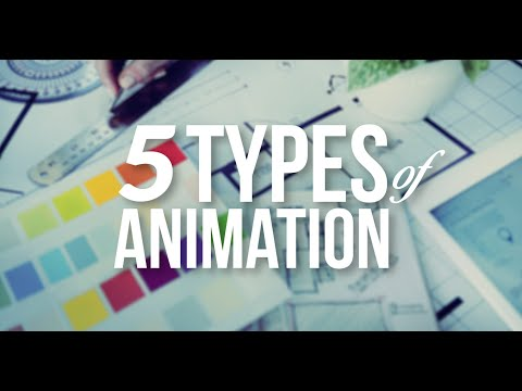 5 Types of Animation | A Beginner's Guide | what is animation | types of animation courses