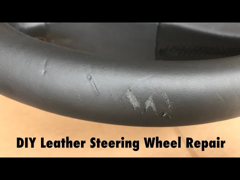 How To Repair Leather Steering Wheel