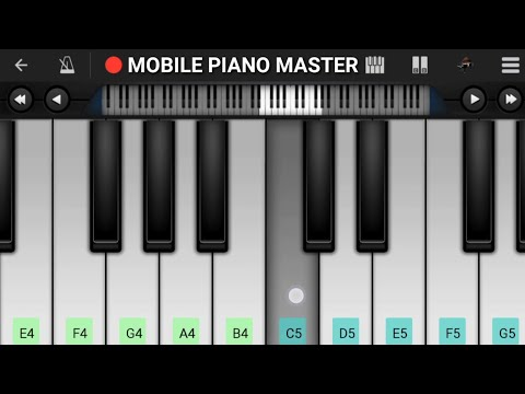 Tu Hi Hai Aashiqui Piano || Arijit Singh & Palak || Mobile Perfect Piano Tutorial