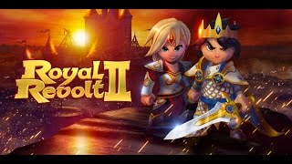 ROYAL REVOLT 2 GAMEPLAY BEGINNER PART 1 - FREE GAME TO PLAY ON PC/IOS/ANDROID