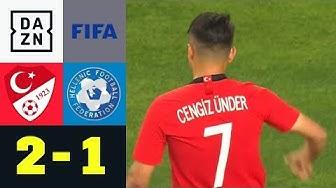 Cengiz Ünders Hammer leitet Sieg ein: Türkei - Griechenland 2:1 | Testspiele | DAZN Highlights