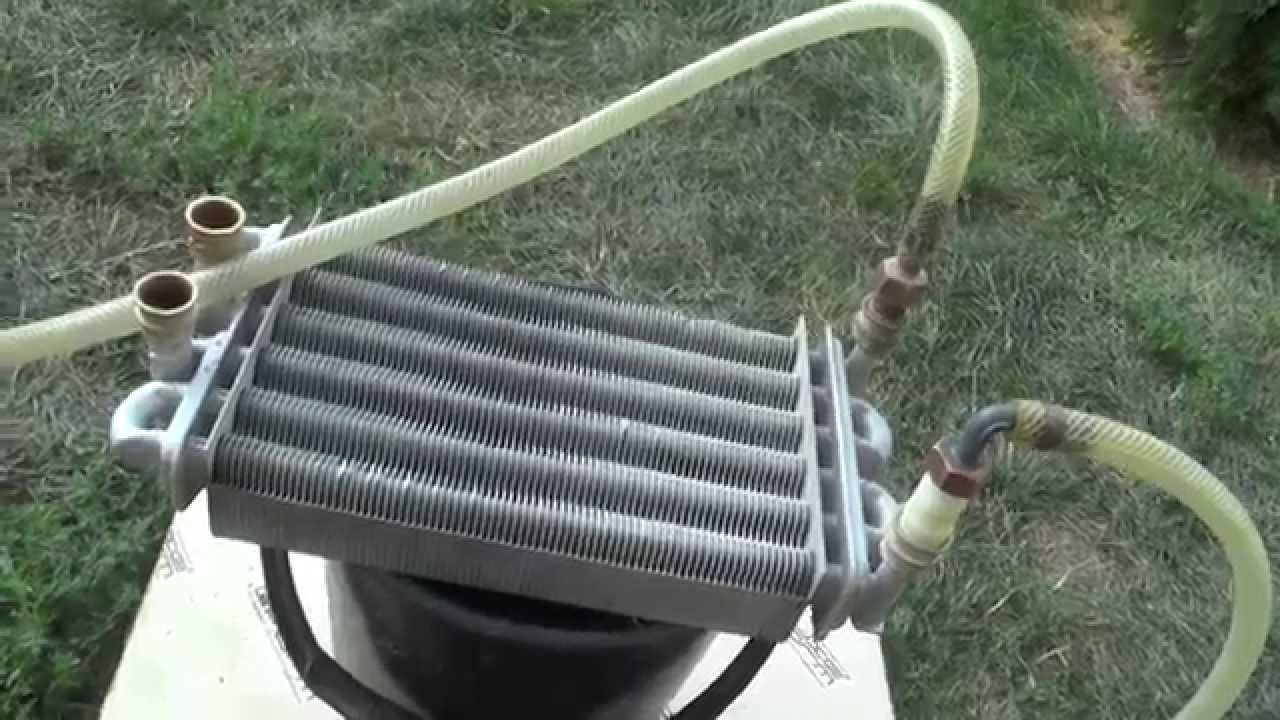 что такое биотермический теплообменник в газовом котле