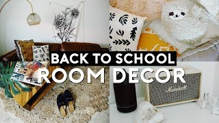 BACK TO SCHOOL ROOM DECOR HAUL 2018   Nastazsa
