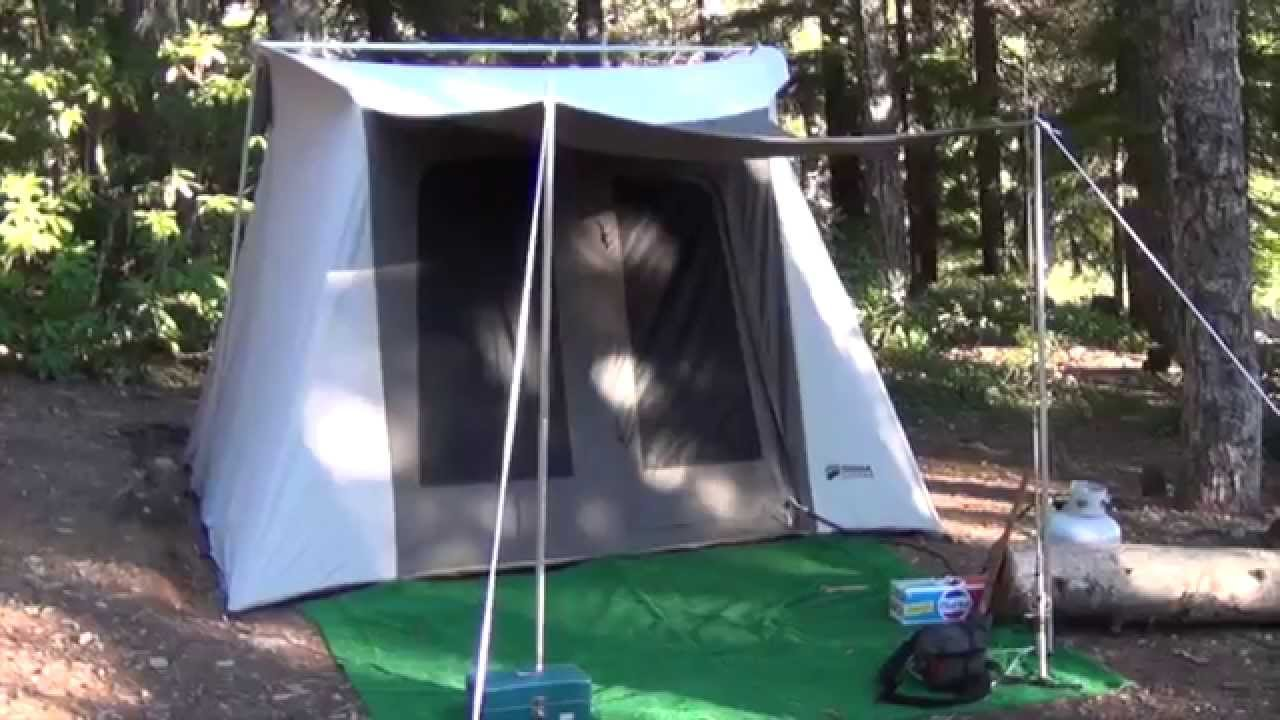 & Kodiak Canvas Tent - YouTube