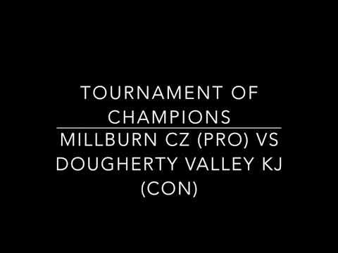Millburn CZ vs Dougherty Valley KJ TOC Runoffs