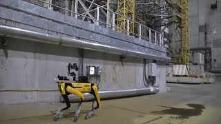 video: Boston Dynamics' robot dog sent into Chernobyl to sniff out radiation