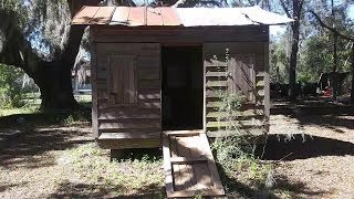 A look INSIDE of an African Slaves House in South Carolina
