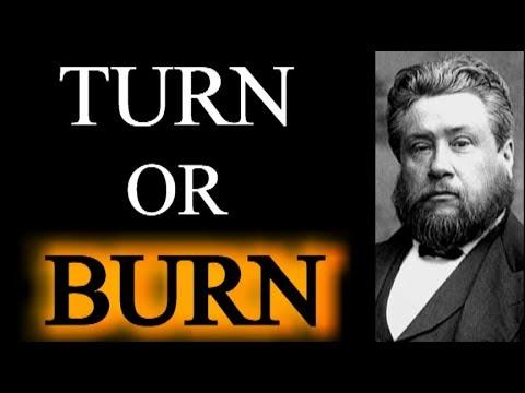 Charles Spurgeon Sermon - Secret Sins (Turn...or Burn)
