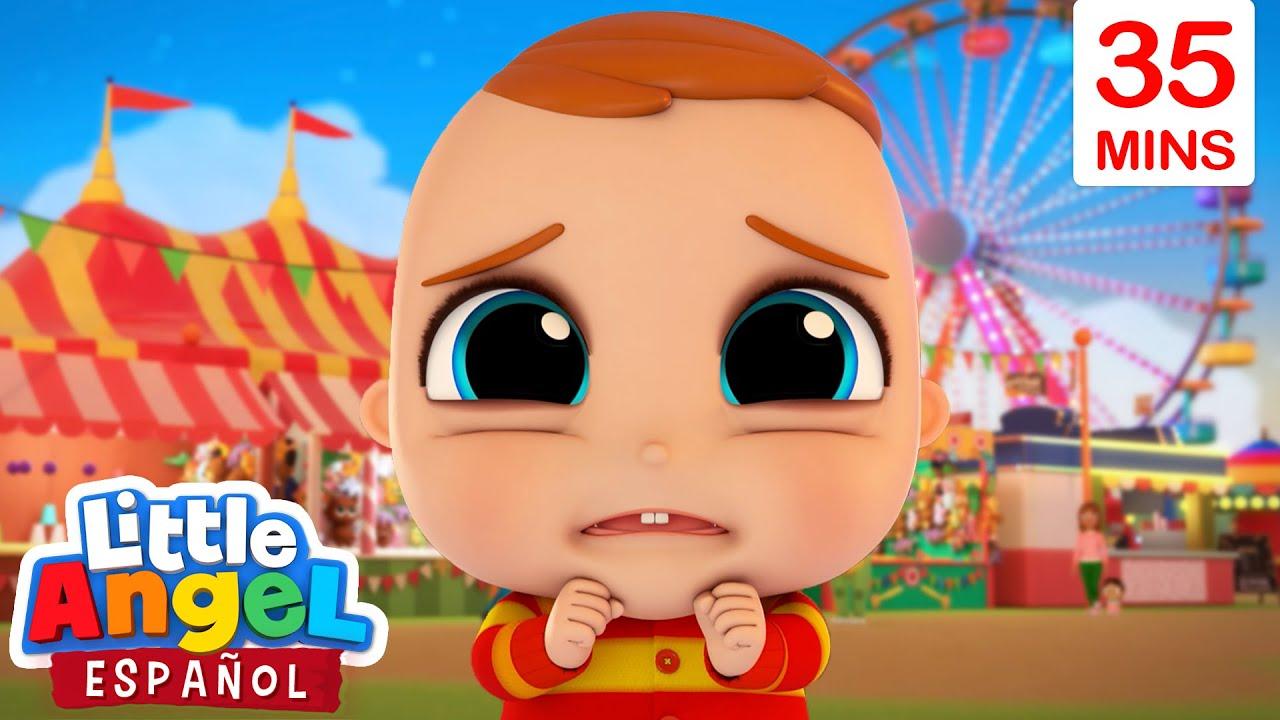 Bebé Juan se Pierde en el Parque de Atracciones 🎡| Canción Infantil | Little Angel en Español