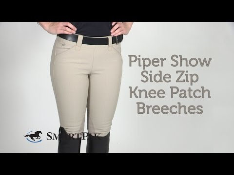 Piper Show Side Zip Knee Patch Breeches Review