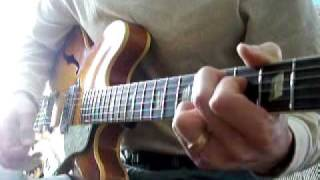 "How to play The Beatles: ""Taxman"" w/ solo lesson  (unplugged) 1966 Epiphone Casino"