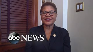 Rep. Karen Bass On The Economy, 2020 Election L Abc News