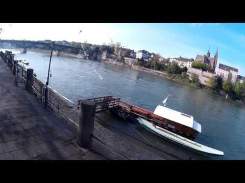 Cycling through Basel w/ SJCam SJ4000