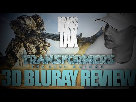 Transformers The Last Knight 3D Bluray Review