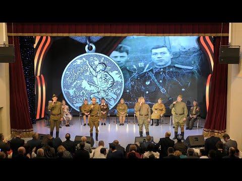 В Лангепасе состоялся торжественный концерт, посвященный Дню защитника Отечества. 2020.02.21