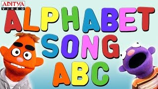 Alphabet Songs - ABC Songs for Children Animation Learning ABC Nursery Rhymes