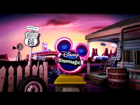 Disney Cinemagic - ROUTE 66 - Ident