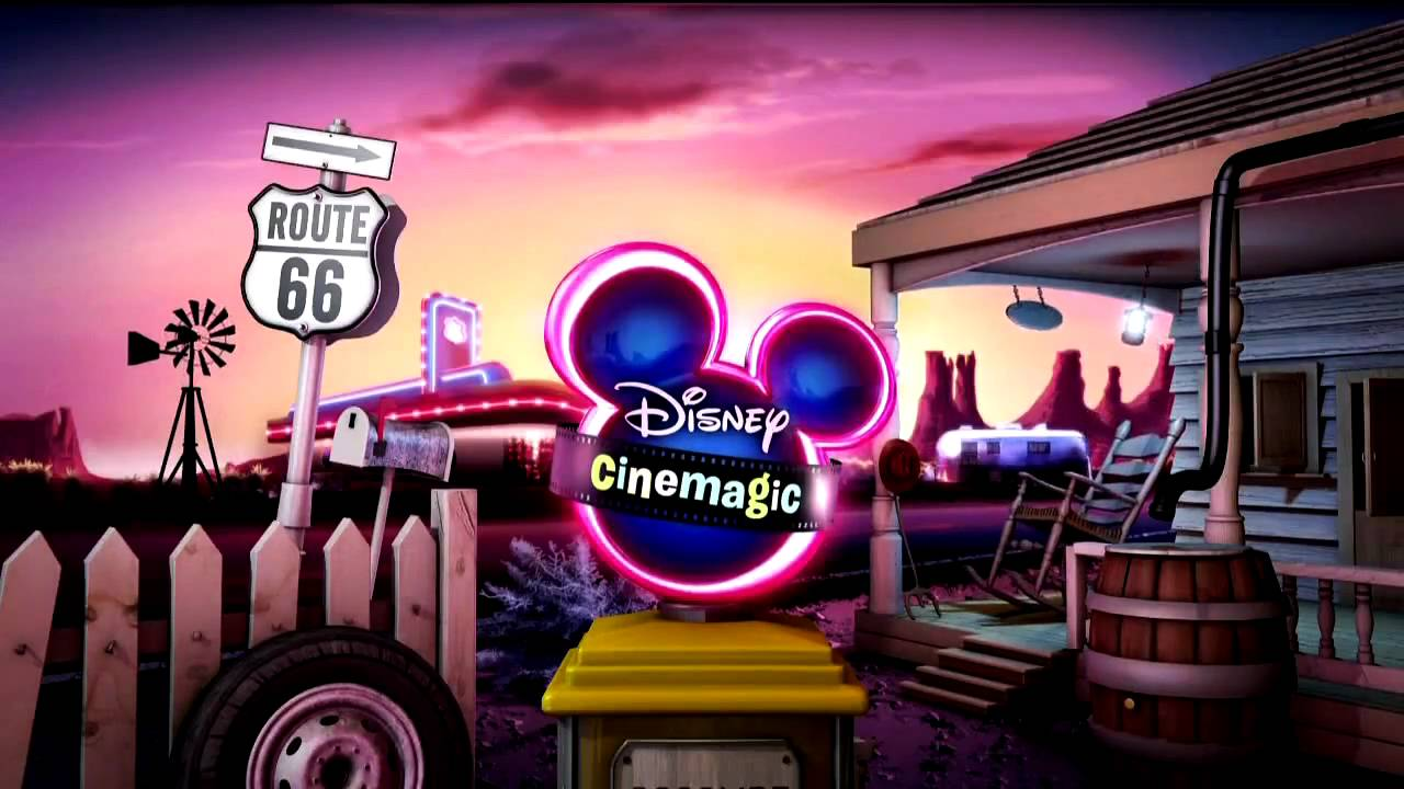 Disney Cinemagic ROUTE Ident YouTube - Route 66 youtube