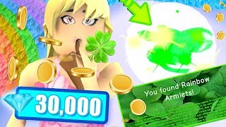 HOW TO FARM RARE CLOVER ORBS 🍀 & DIAMONDS in the NEW UPDATE! 30K OVERNIGHT! Royale High