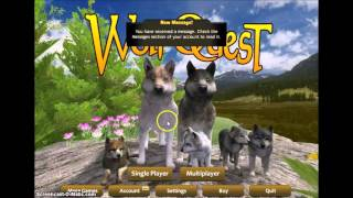 WolfQuest ~Multiplayer~ Puppies & Spammer *READ DESCRIPTION*