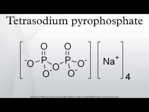 Tetrasodium pyrophosphate - YouTube