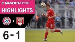 FC Bayern München II - Hallescher FC   Spieltag 24, 19/20   MAGENTA SPORT