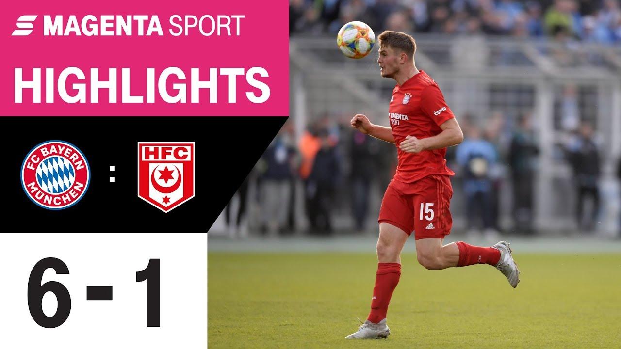 Bayern Ii Gegen Hallescher