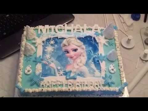 Frozen Cake 5 Queen Elsa Youtube