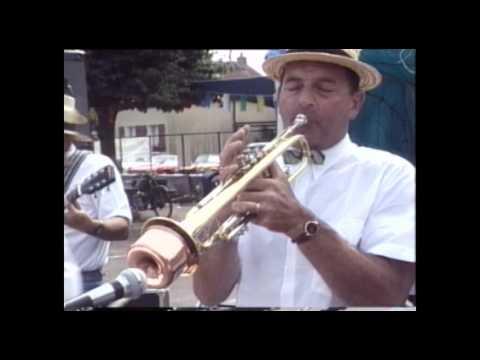 Groupe de jazz new Orléans Ronchamps en 1991