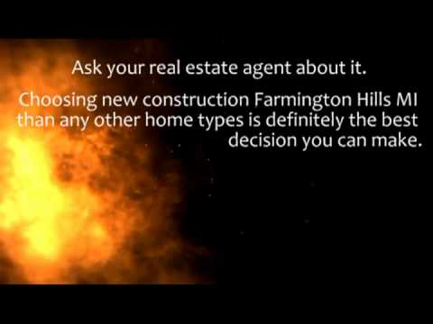 4 Reasons to Choose New Construction Farmington Hills MI over Other Older Homes