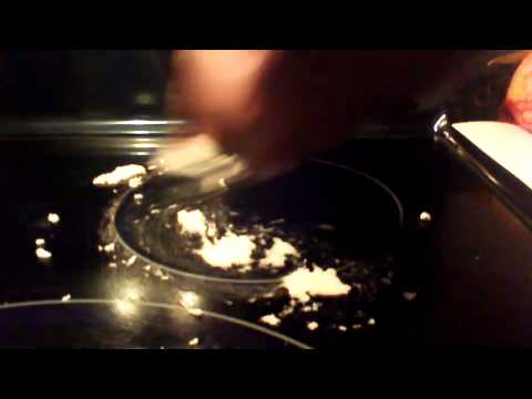 How to remove burn marks on a glass stove top