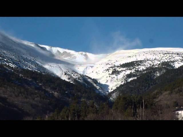 Torb al Puig de Dòrria Ripollès  Febrer 2015