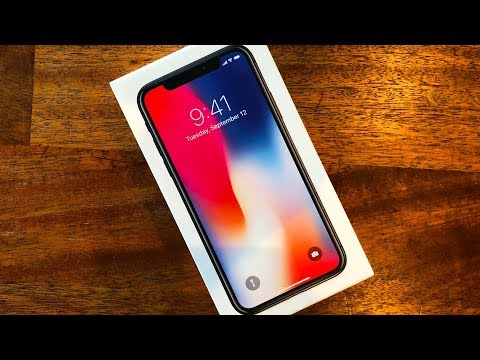 iPhone X Unboxing & Review Video