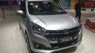 Daihatsu Ayla (2017 facelift) 1.2 R M/T In Depth Review Indonesia - GIIAS 2017