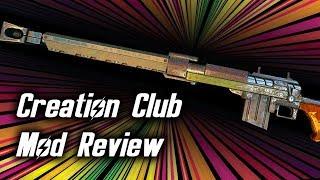 Fallout 4 Anti-Materiel Rifle Creation Club mod review!