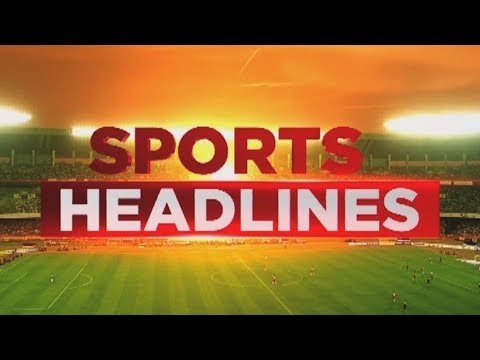 Sports HEADLINES : PV Sindhu Eyeing India's 9th Gold Medal At Asian Games 2018