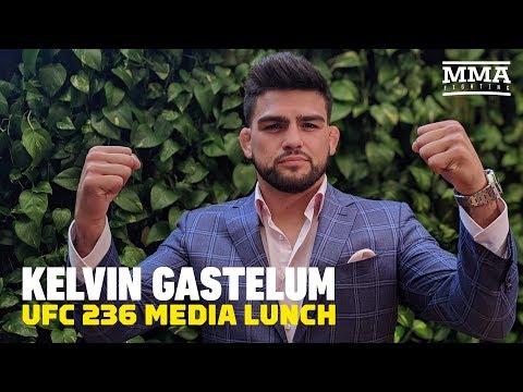 UFC 236: Kelvin Gastelum Media Lunch - MMA Fighting