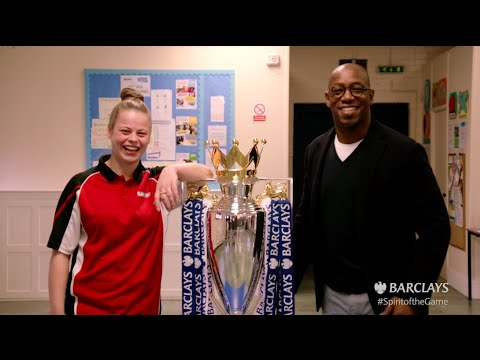 Ian Wright launches competition to present Barclays Premier League trophy | Barclays