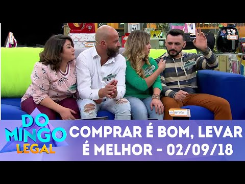 Comprar é Bom, Levar é Melhor! | Domingo Legal (02/09/2018)