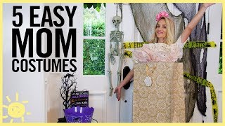 STYLE & BEAUTY | 5 Easy Halloween Costumes