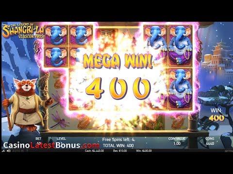 The Legend Of Shangri-la Online Slot From NetEnt (FREESPINS, BONUSES, BIGWIN, MEGAWIN, SUPERBIGWIN)