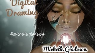 Digital Drawing - Magical Girl