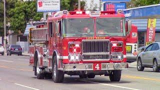 (New Engine) Long Beach Fire Dept. Engine 4
